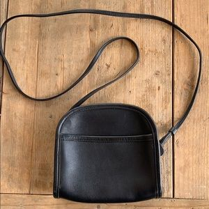 Coach Made in the USA vintage black crossbody bag